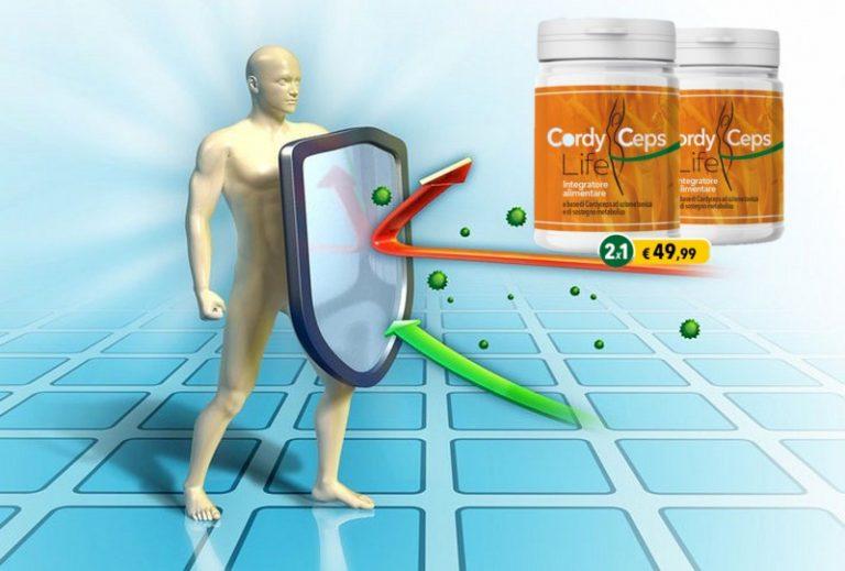 Cordyceps Life 2X1: l'integratore che protegge e rinforza