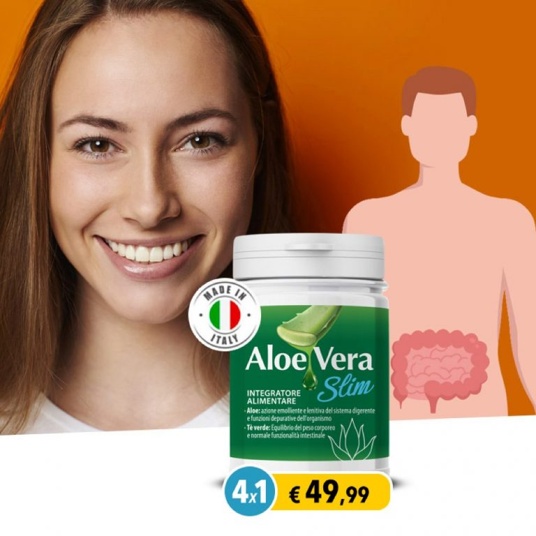 Aloe Vera Slim 4X1: L'integratore che fa perdere peso – Tutta la verità
