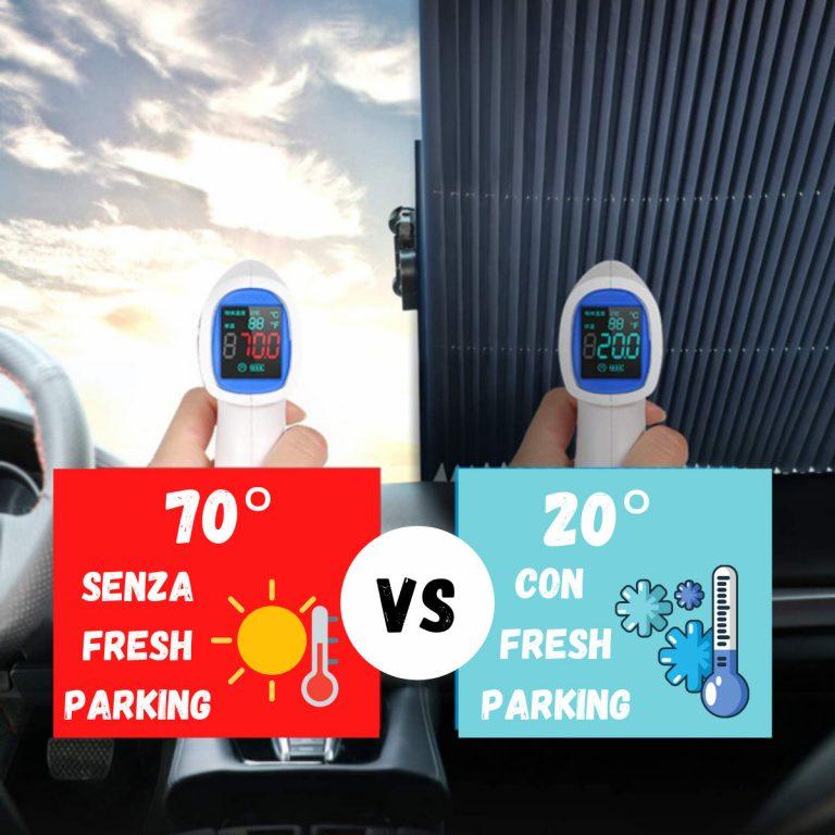 Fresh Parking: proteggi l'auto dai raggi del sole. Funziona davvero?