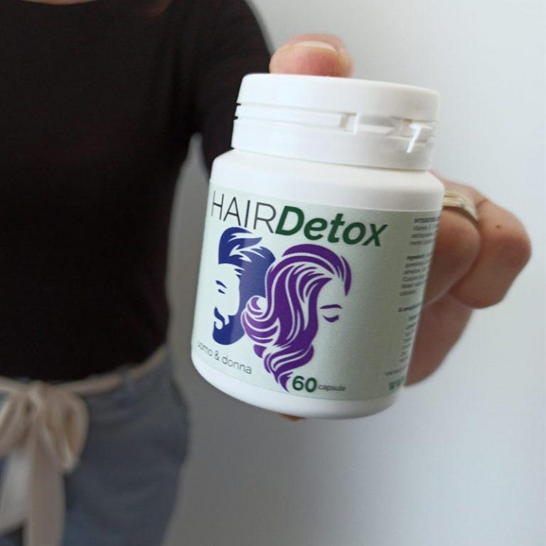 Hair Detox: ecco come funziona l'integratore naturale per cuoio capelluto